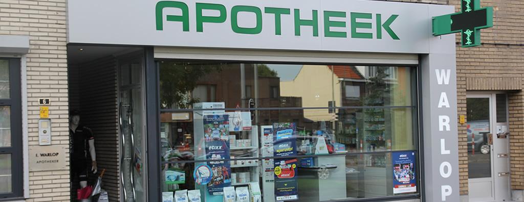 Banner 1 Apotheek Warlop Apotheek Ekeren